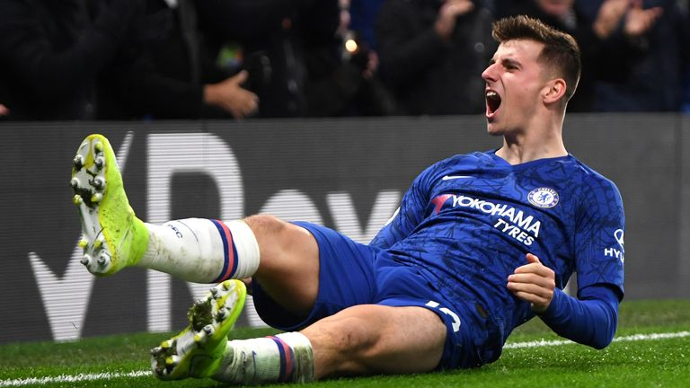 Mason Mount has asserted himself as a regular in Frank Lampard's Chelsea side this season