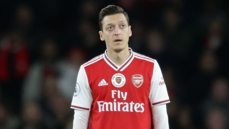 Ozil splits opinion with his performances for Arsenal