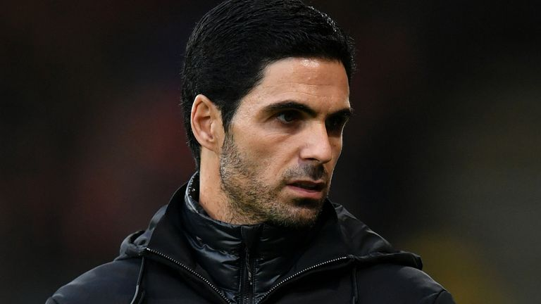 Arteta has urged fans to follow the club's example