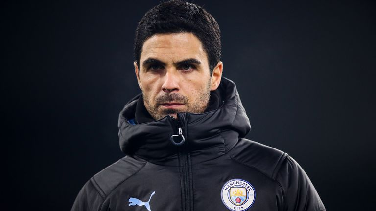 Mikel Arteta has spent three years working under Pep Guardiola at Manchester City