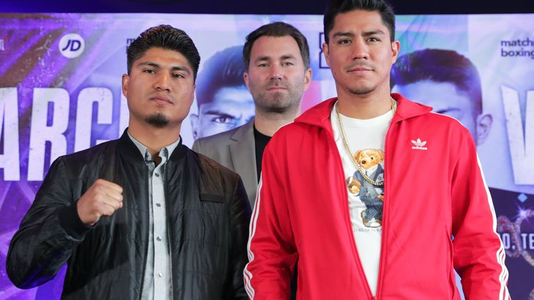 Mikey Garcia faces Jessie Vargas in the main event in Texas