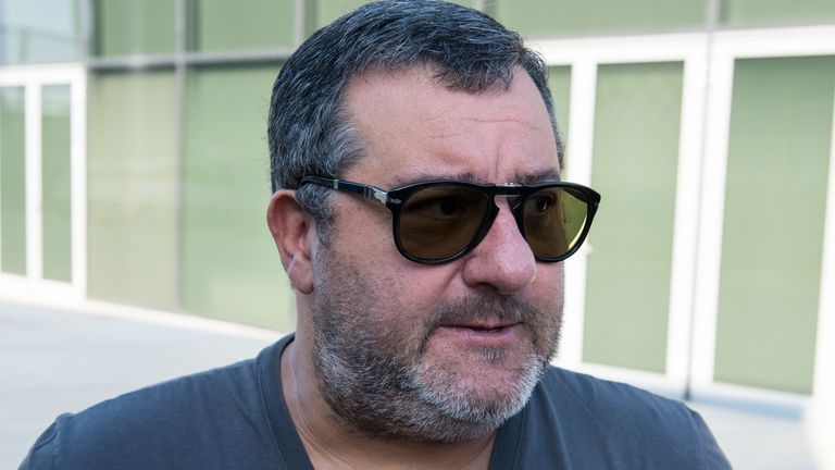 Mino Raiola said he was working on transferring Paul Pogba from United last summer