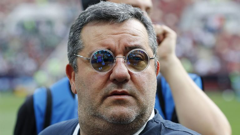 Pogba wants to 'win prizes' at Manchester United, says Mino Raiola