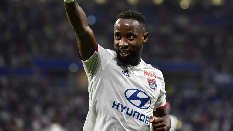 Moussa Dembele has 15 goals in 29 appearances for Lyon this term