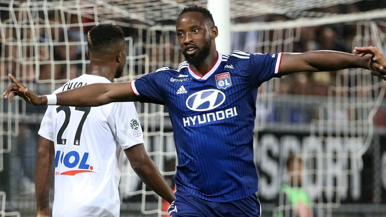 Lyon signed Moussa Dembele from Celtic for £19.7m in August 2018
