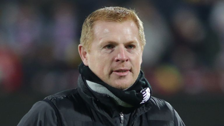 Neil Lennon denied Celtic had tabled an offer for Sporar