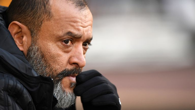 Nuno's side lies second in Europa League Group K going into their final game