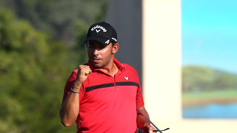 Larrazabal held on for a victory despite a three-over 75 on the final day