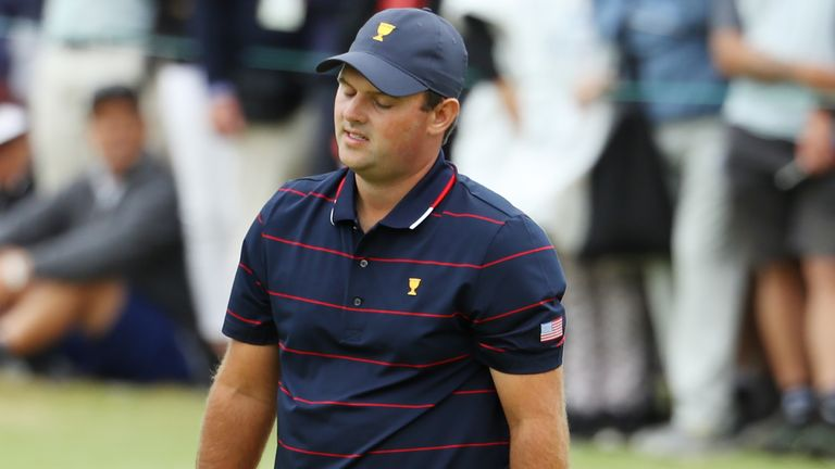 Reed has endured a miserable first three days at the Presidents Cup