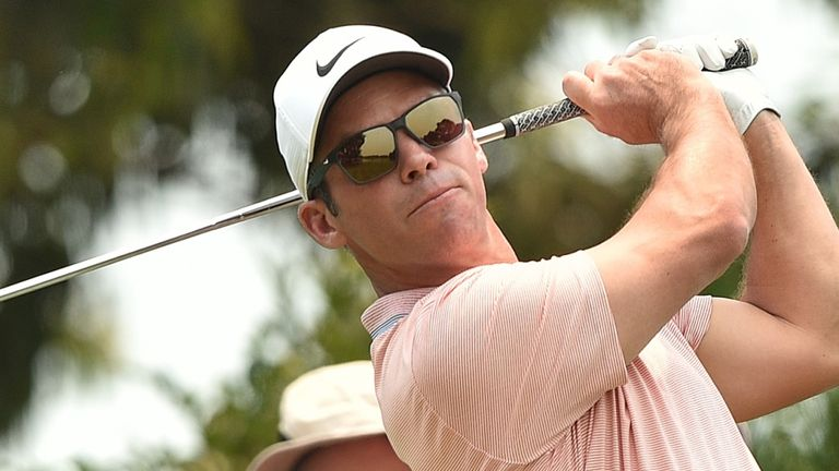Paul Casey was troubled by bushfire smoke during his opening 68 at the Australian Open