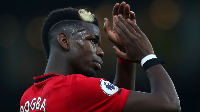 Speculation continues regarding Paul Pogba's future at Manchester United