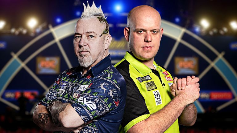 Wright takes on Van Gerwen in a repeat of the World Championship final