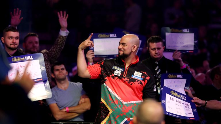A fair few eyes will be on Devon Petersen, he fancies his match as one to watch too!