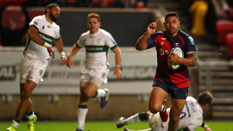 Bristol full-back Charles Piutau was in superb form this week. Find out who makes it into our XV alongside him below...