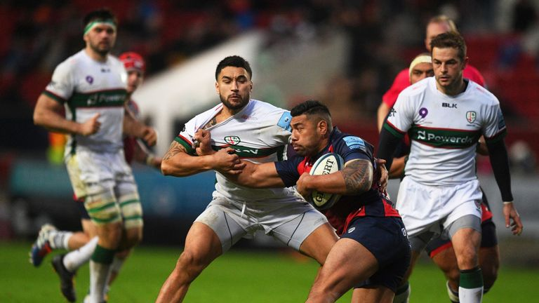 Piutau has helped guide Bristol to second in the Premiership