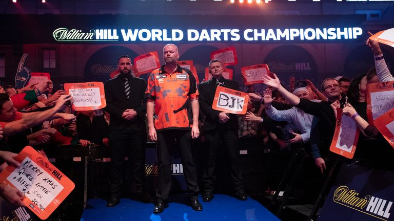Barney is targeting a return to the Ally Pally