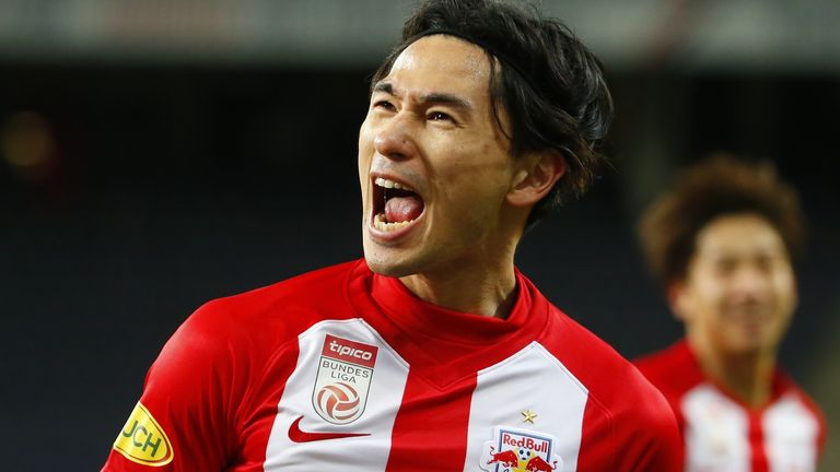Minamino says it is his 'dream' to become a Liverpool player