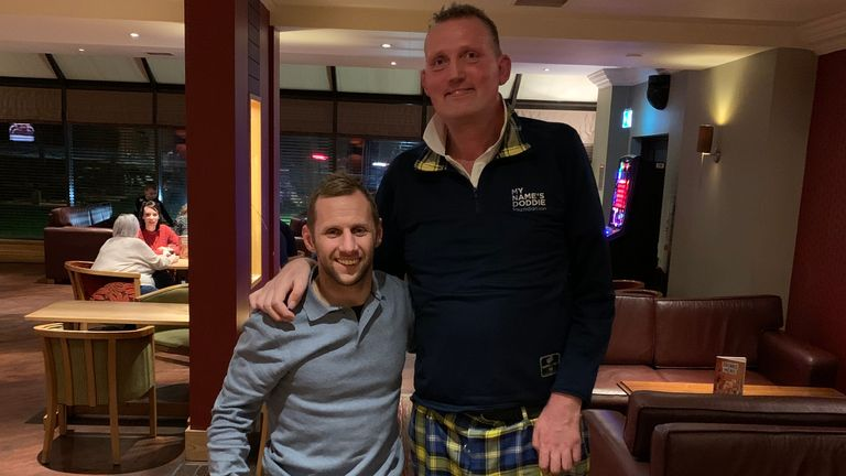 Rob Burrow and Doddie Weir met following the former's MND diagnosis