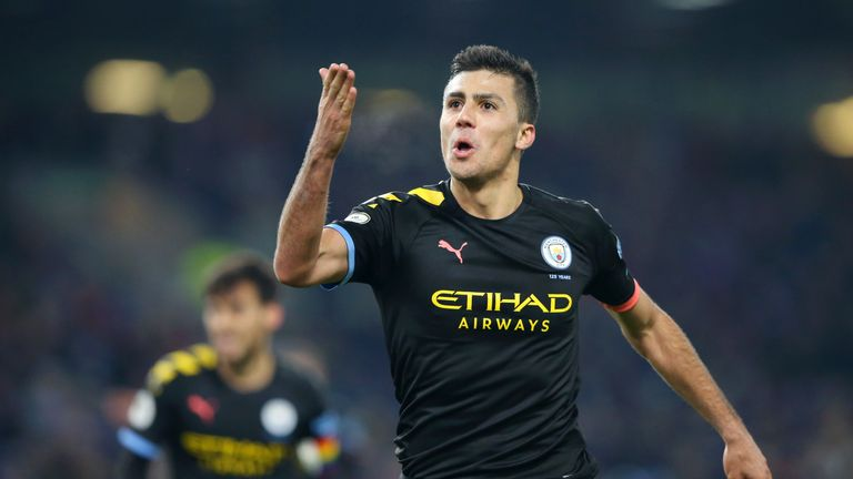Rodri impressed in the victory at Burnley in midweek