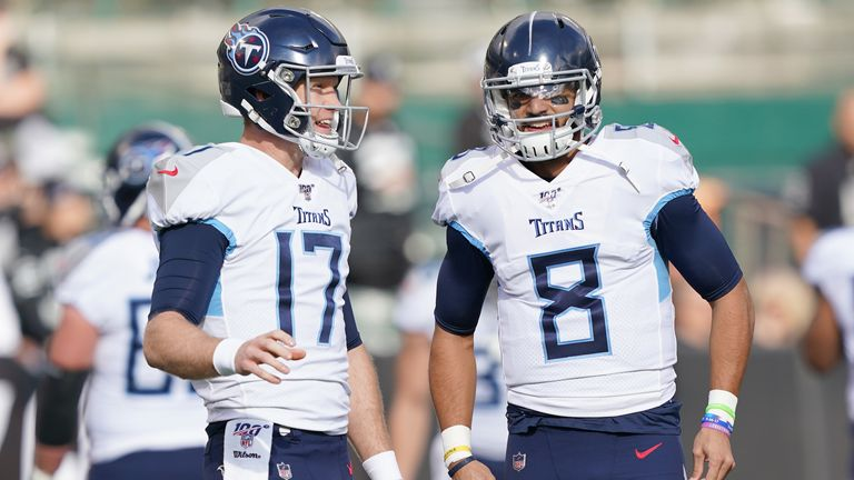 Tannehill replaced Tennessee veteran Marcus Mariota as the Titans' starter