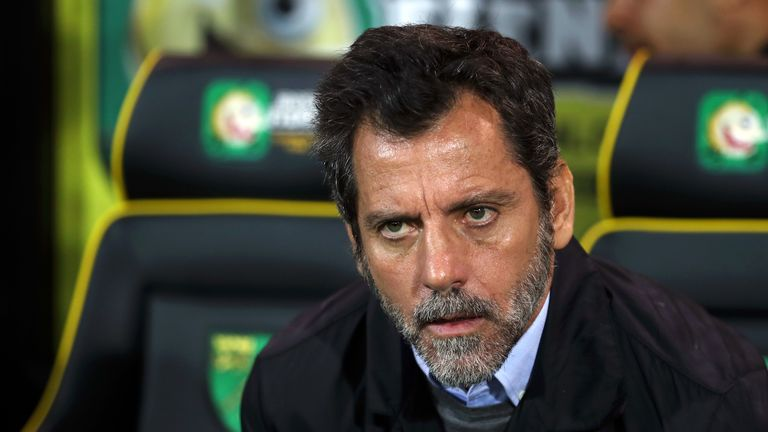 Quique Sanchez Flores was sacked by Watford on Sunday lunchtime