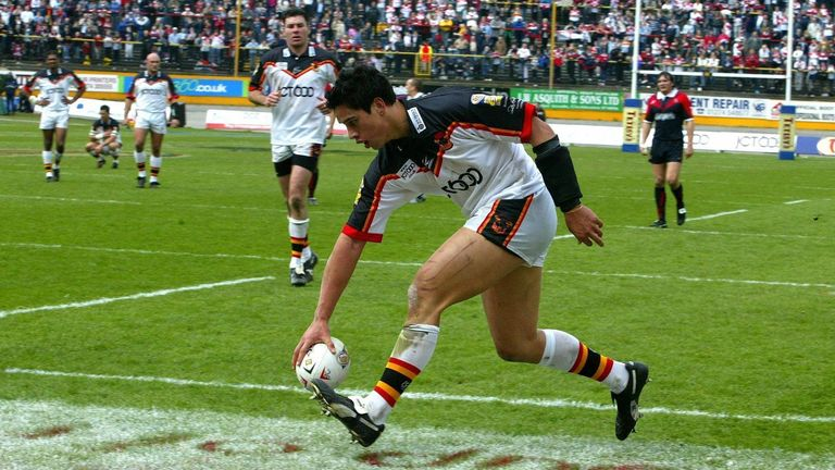 Bradford's Easter Monday win over a depleted St Helens in 2004