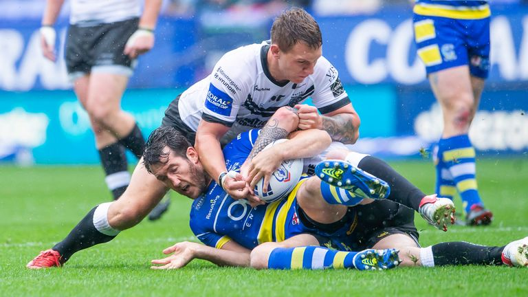 Stefan Ratchford played in Warrington's cup semi-final despite not being named in the initial 19-man squad