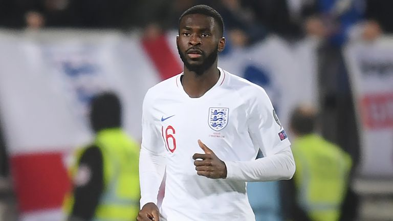 Tomori earned his first England cap against Kosovo in November