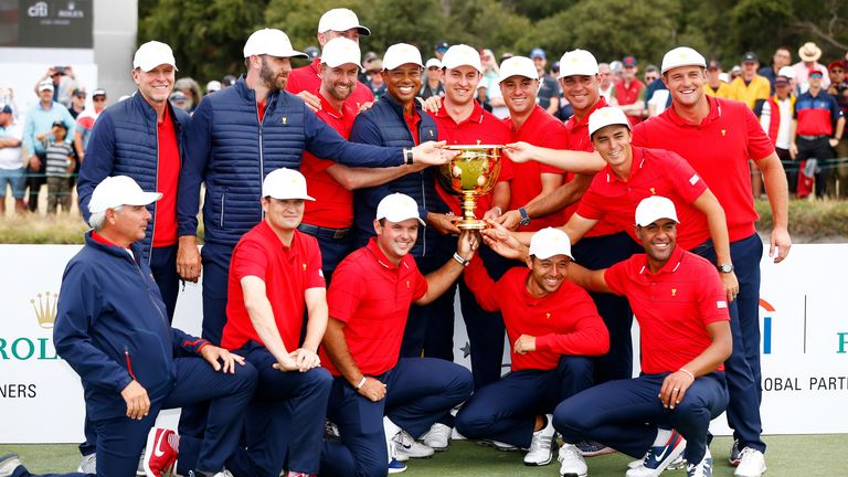 Tiger Woods skippered Team USA to Presidents Cup glory in a tight contest in Australia