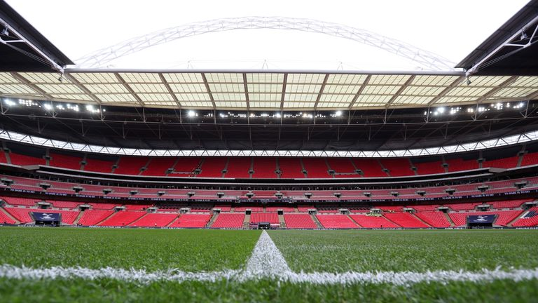 England will play their group stage games at Wembley, but their potential knockout games would be played elsewhere until the semi-final stage