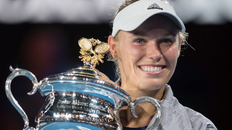 Wozniacki's only Grand Slam title came at the 2018 Australian Open