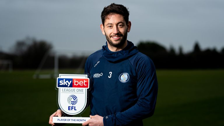 Jacobson was named Sky Bet League One Player of the Month for November