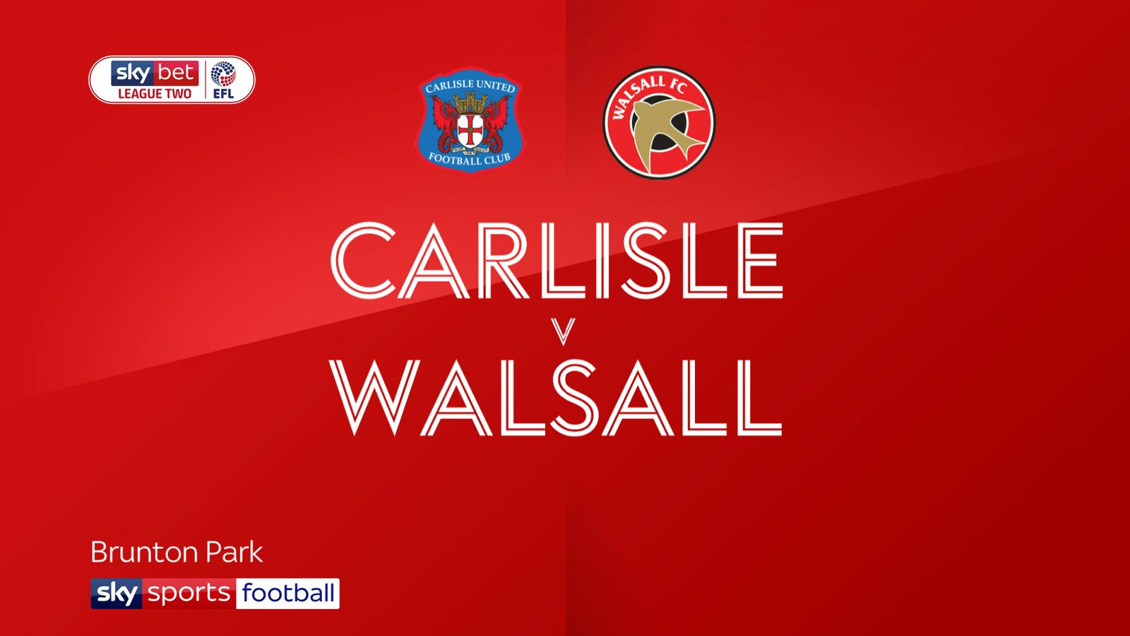 Carlisle 2-1 Walsall: Cumbrians ease relegation fears