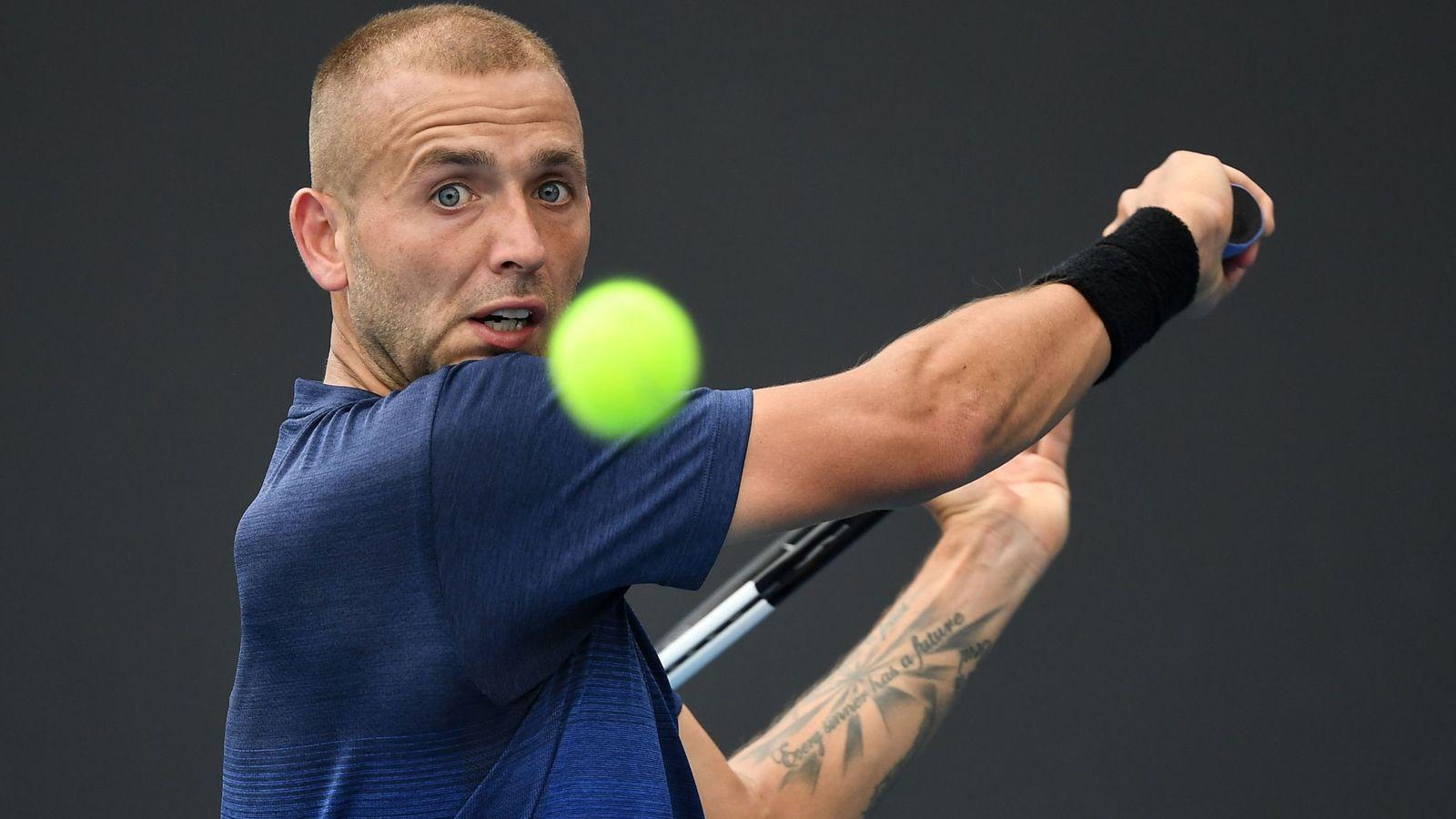 Dan Evans reaches Rotterdam Open quarter-finals