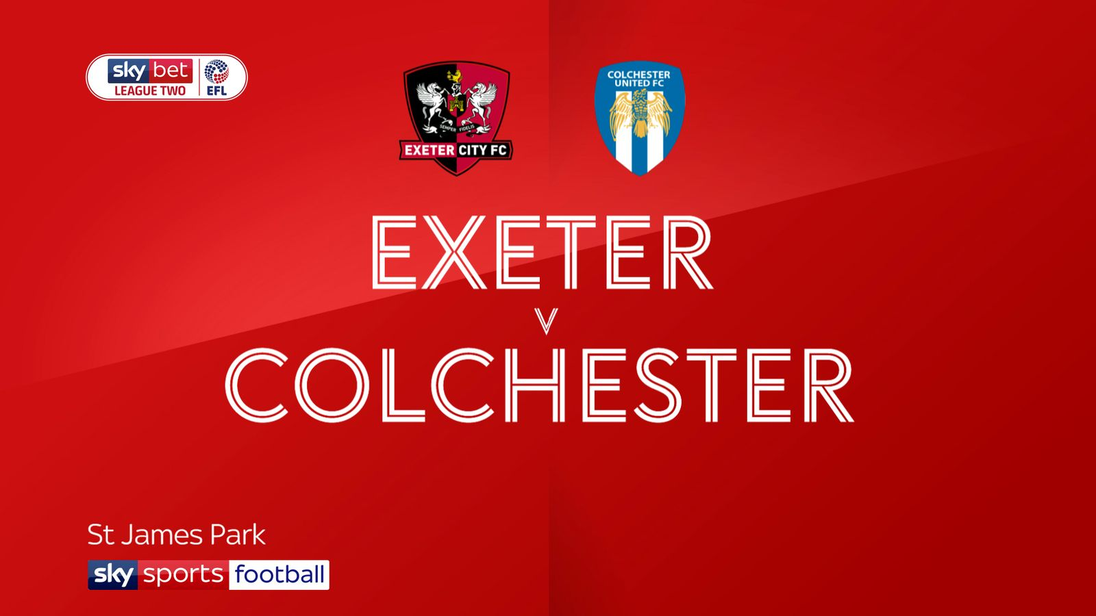 Exeter 0-0 Colchester: Goalless at St James Park
