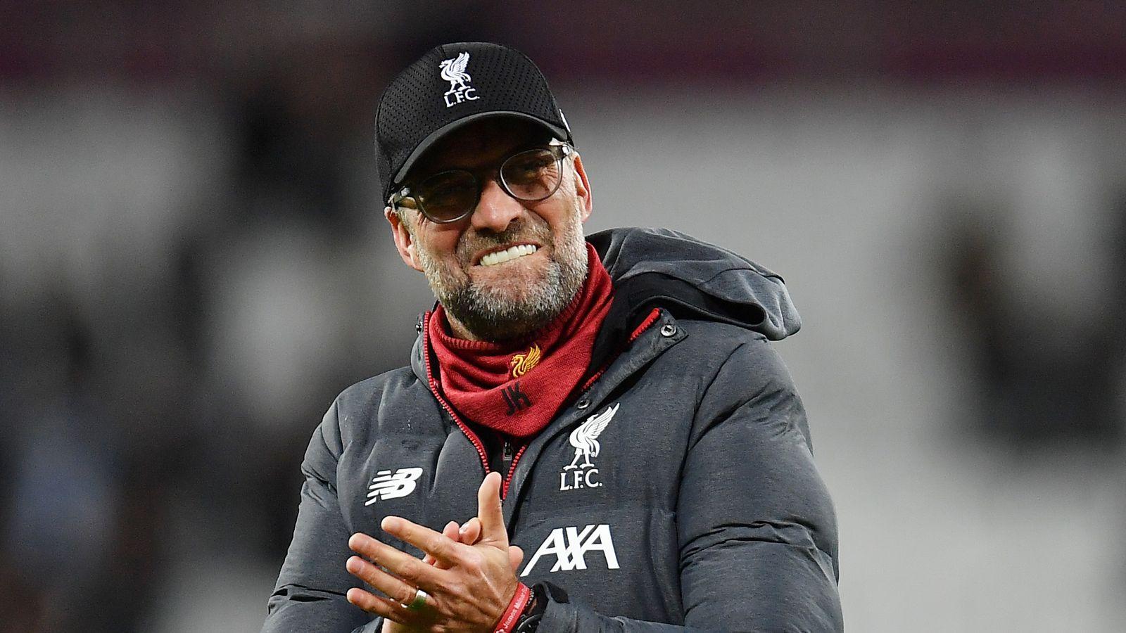 Jurgen Klopp praises achievements of his Liverpool side ...