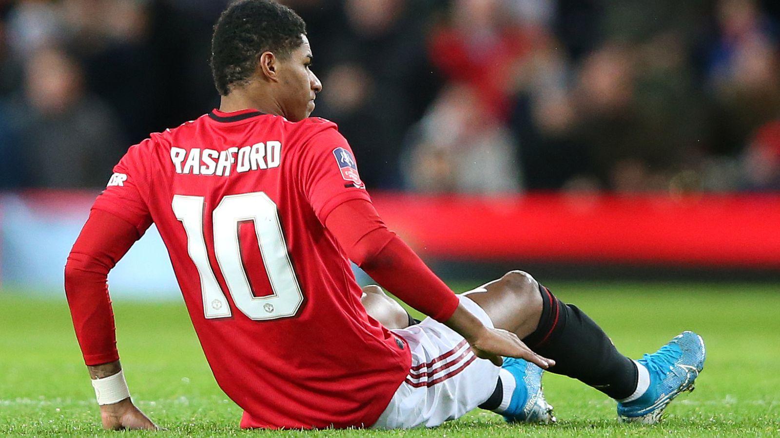 Marcus Rashford 'touch and go' on Manchester United return before end of season, says Ole Gunnar Solskjaer