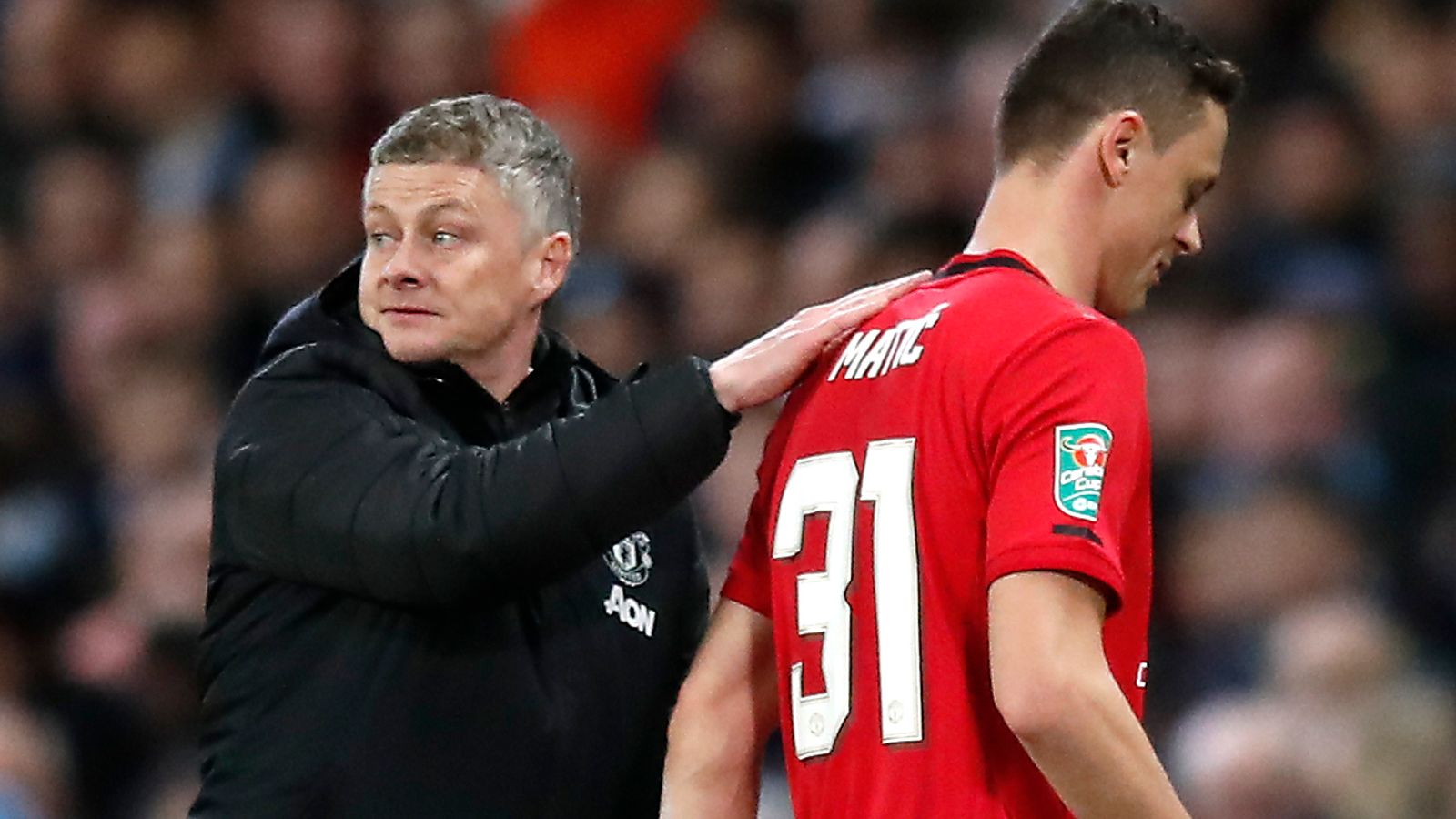 Ole Gunnar Solskjaer a 'much better manager than one year ago', says Nemanja Matic