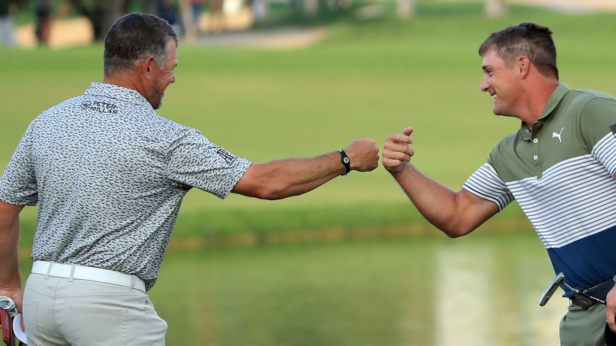 Bryson DeChambeau feels pace of play is improving after strong start