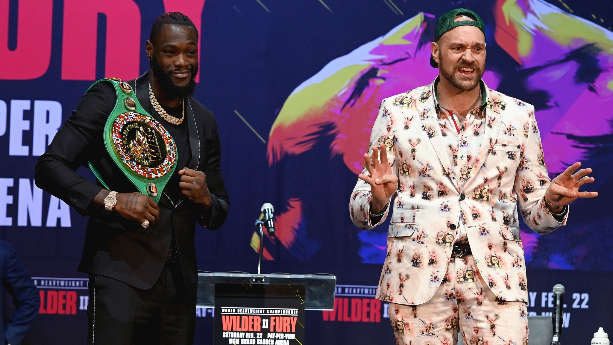 Wilder vs Fury 2: Tyson Fury asks Richard Riakporhe and Lawrence Okolie to be his sparring partners