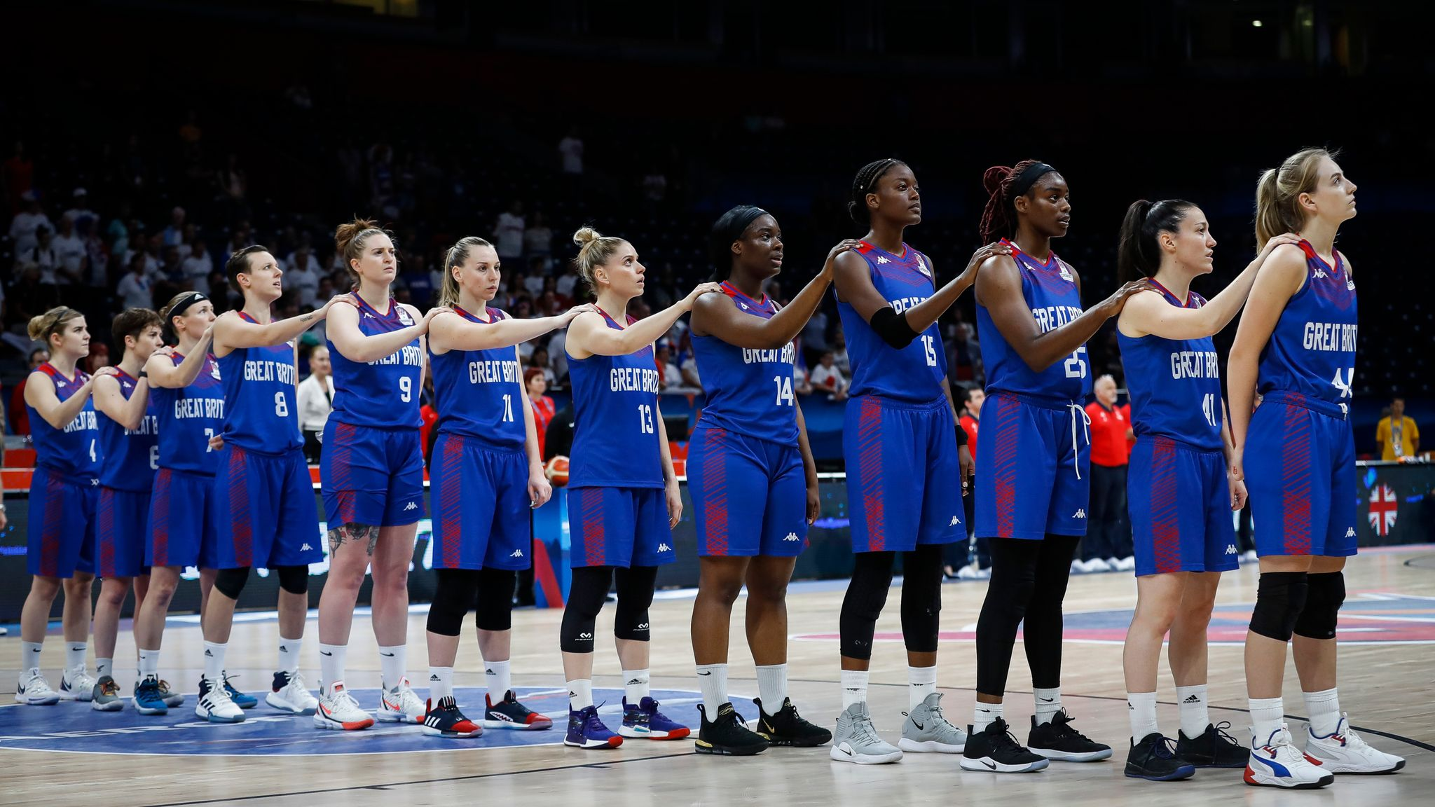 Coronavirus in China forces Great Britain women's basketball team into venue switch