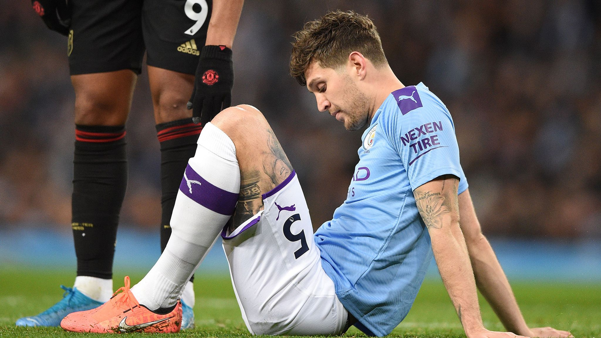 Image result for john stones sad