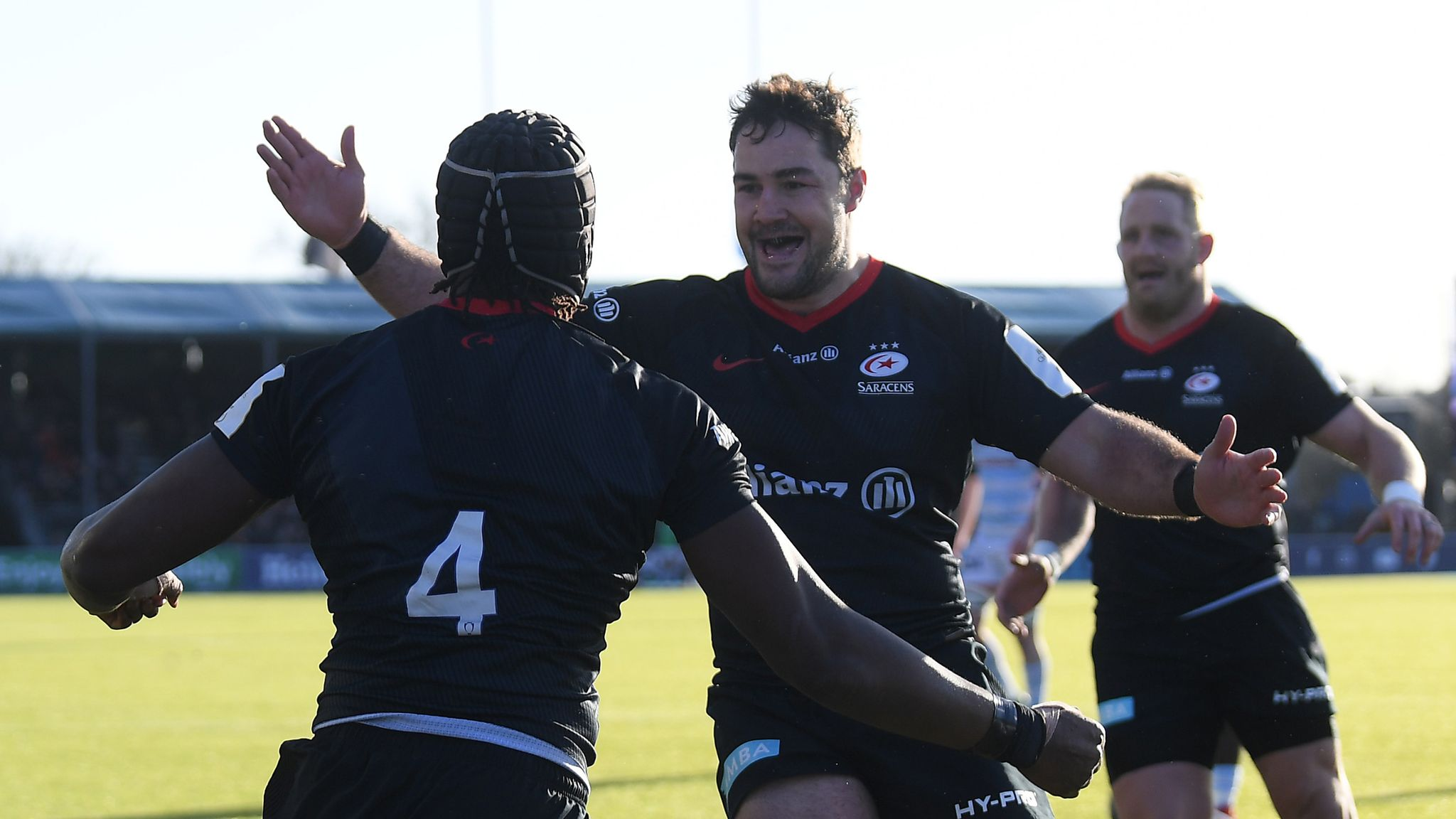 Champions Cup quarter-finals: Saracens travel to Leinster