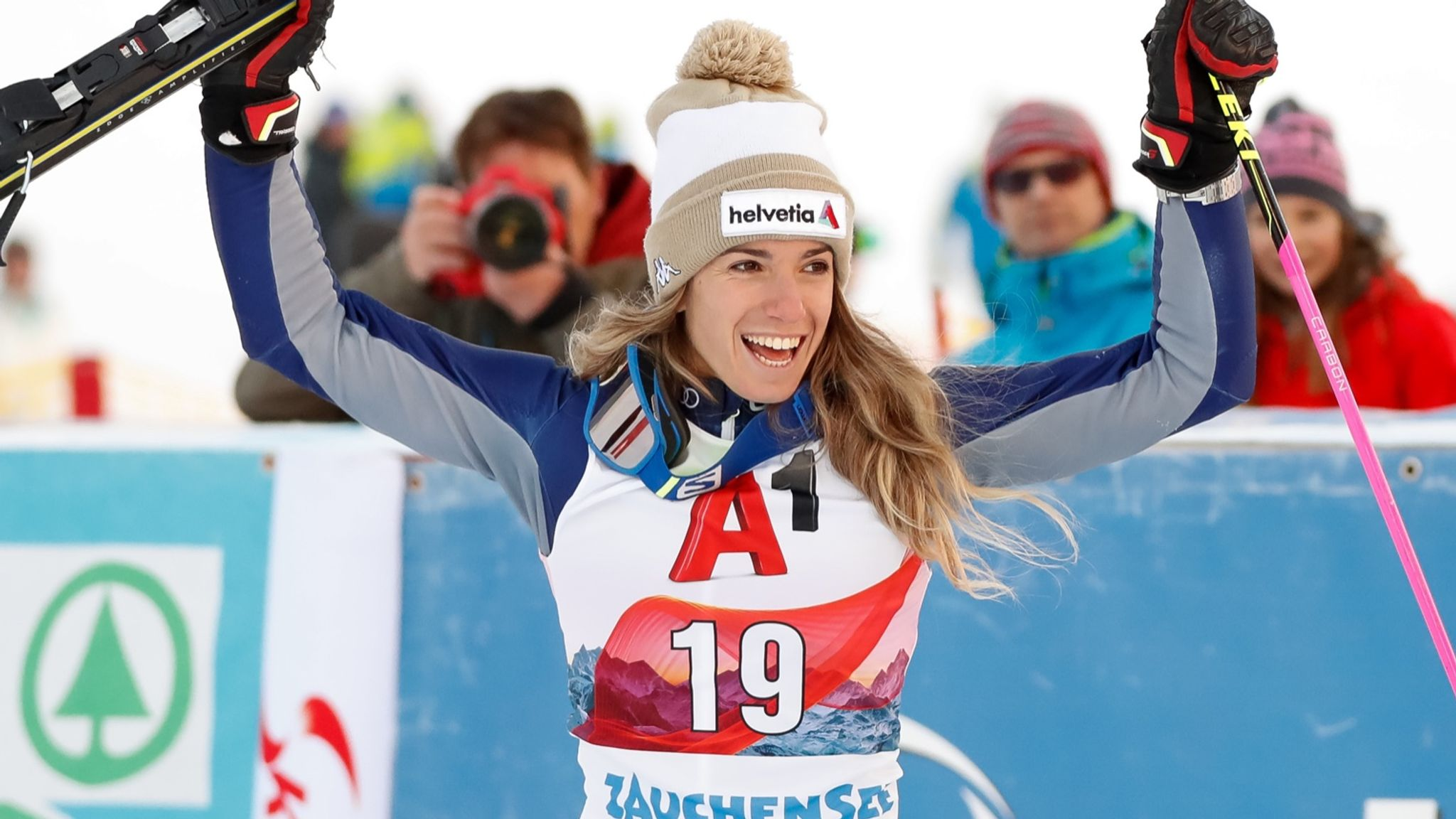 Alpine skier Marta Bassino hits World Cup podium again in Austria