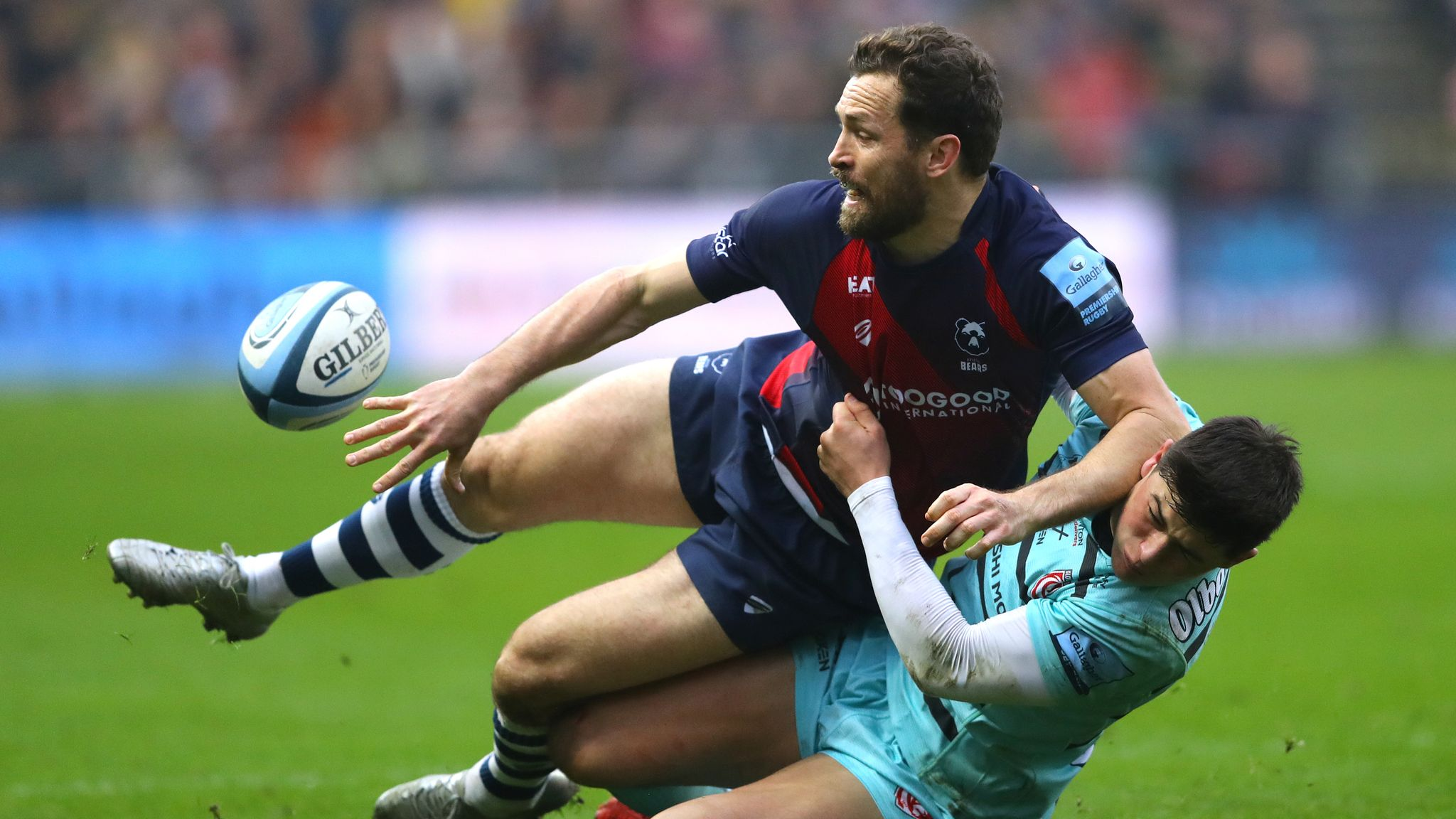 Gallagher Premiership: Bristol win derby, Exeter lose at home to Sale