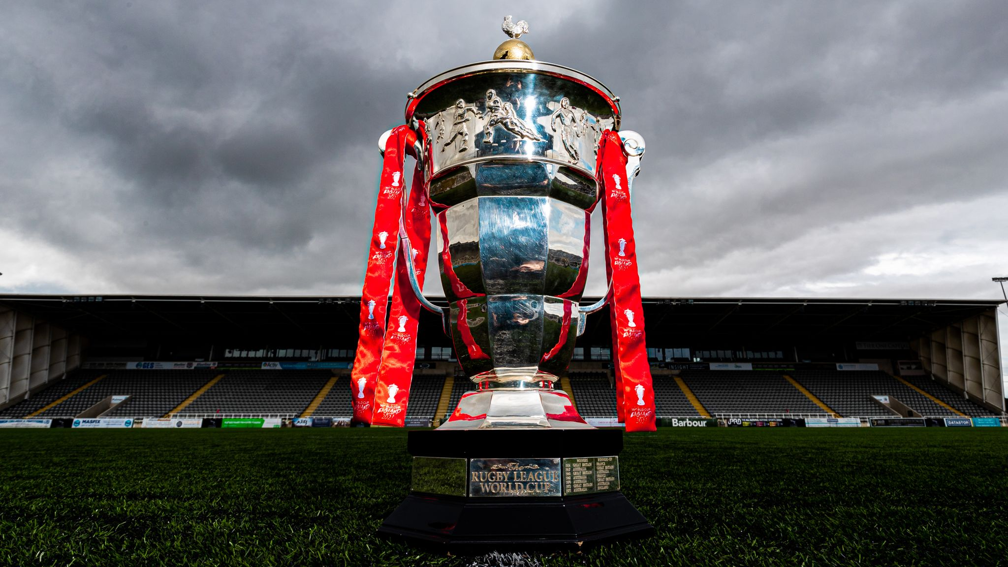 Rugby League World Cup 2021 draw LIVE!