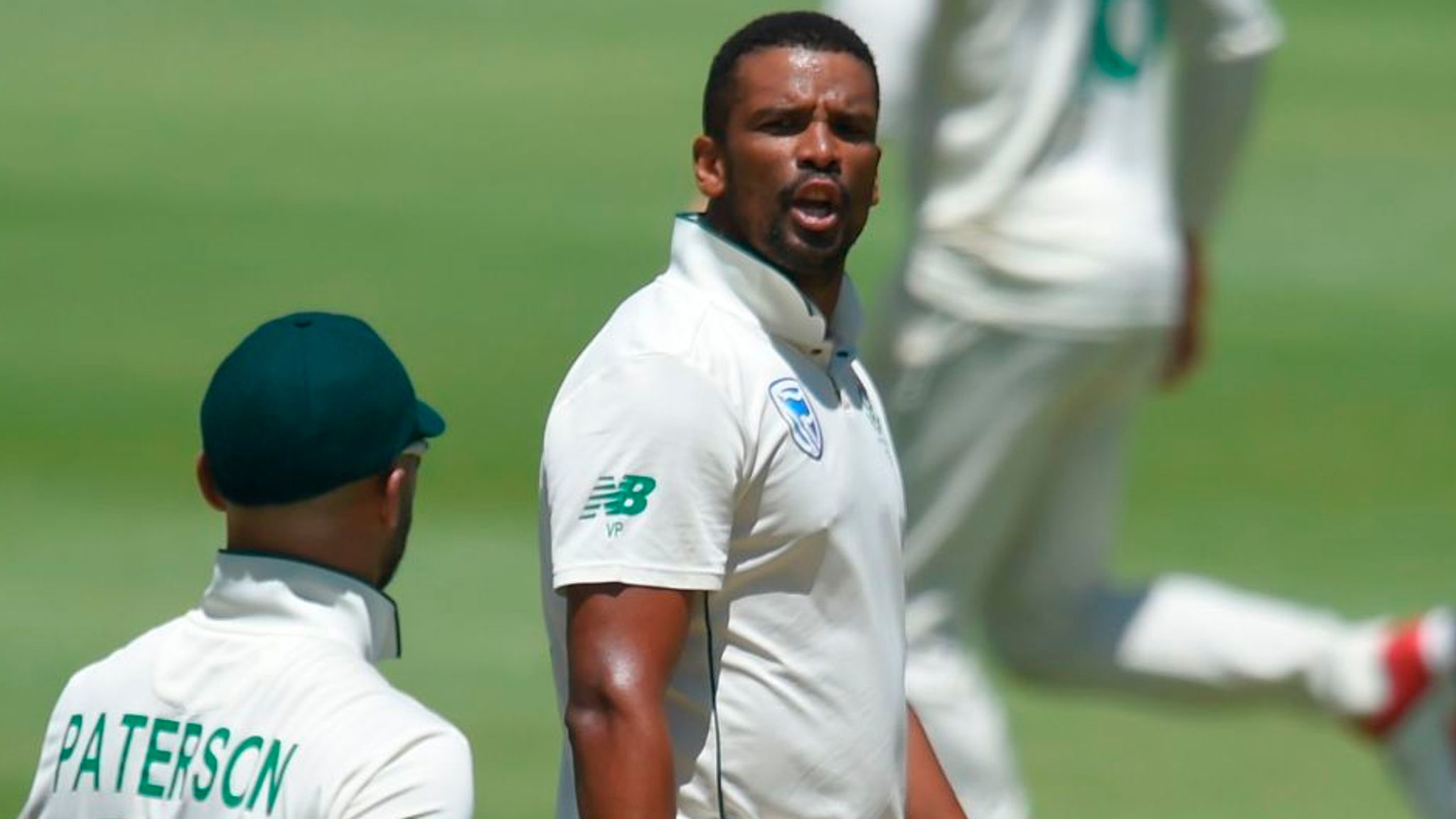 South Africa's Vernon Philander fined for swearing at Jos Buttler