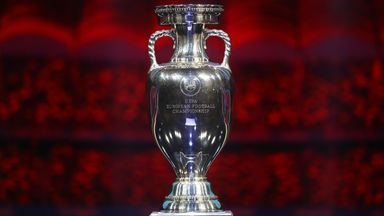 The European Championship trophy - who will lift it in July?