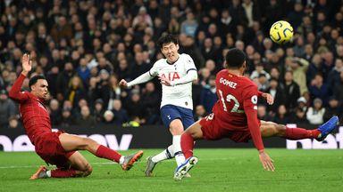 fifa live scores - Tottenham-Liverpool player ratings