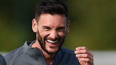 Lloris returns to first-team training